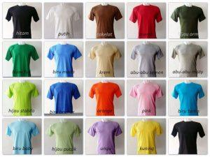 Pilihan-Warna-Kaos-Polos
